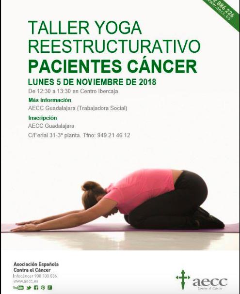 5 NOV: Talle de Yoga Reestructurativo Pacientes Cáncer
