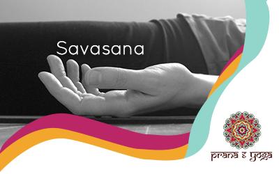Savasana (postura de muerto)