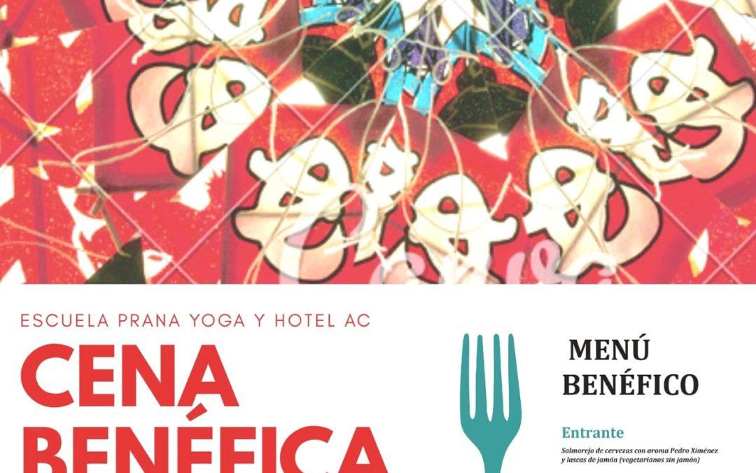 Cena Benéfica Prana&Yoga a favor de la Asociación 8 Semillas (Varanasi, India)