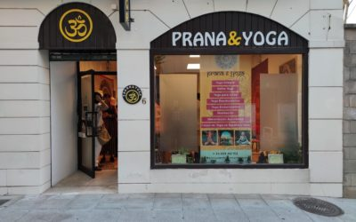 Inauguración del local de Prana & Yoga