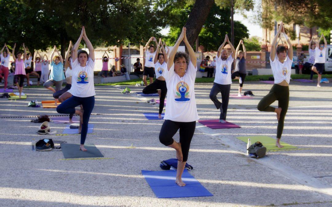 El Día Internacional del Yoga en España se celebró este año en Guadalajara