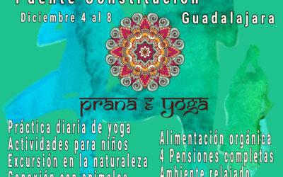 Diciembre 2020: Retiro de yoga en familia