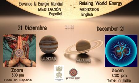 21 DIC – Gran Meditación Mundial
