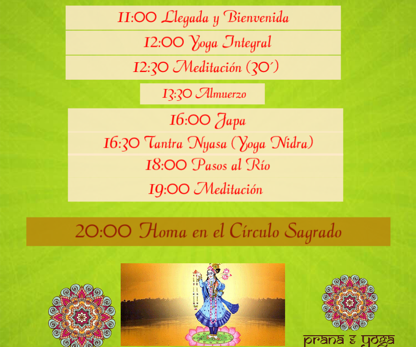18 abril – Curso Yamuna Chhath