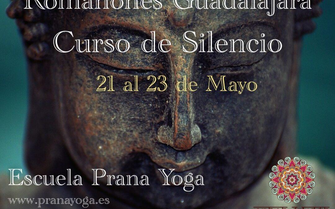 21 al 23 de mayo – Curso de Silencio en Romanones (Guadalajara)