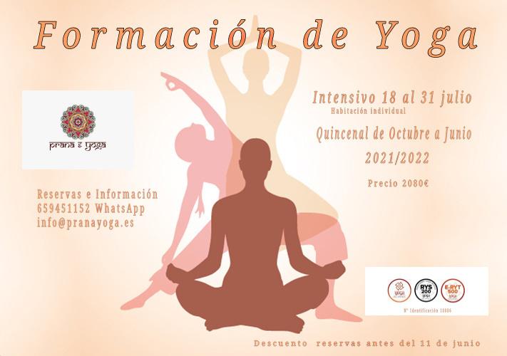 Formación Internacional de Profesores de Yoga