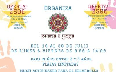 Campamento Urbano Prana Yoga