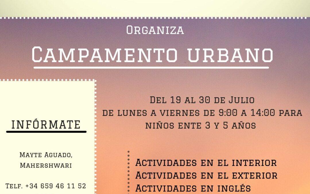 Campamento urbano 2021